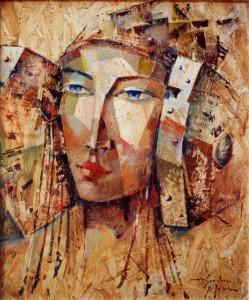 Pintura - Dama Ibérica 4806