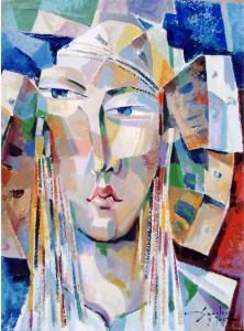 Pintura - Dama 7006