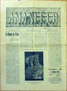 Libro o impreso - Semanario AMANECER