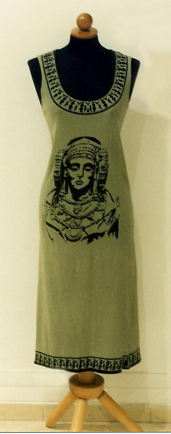Objeto - Vestido con Dama de Elche