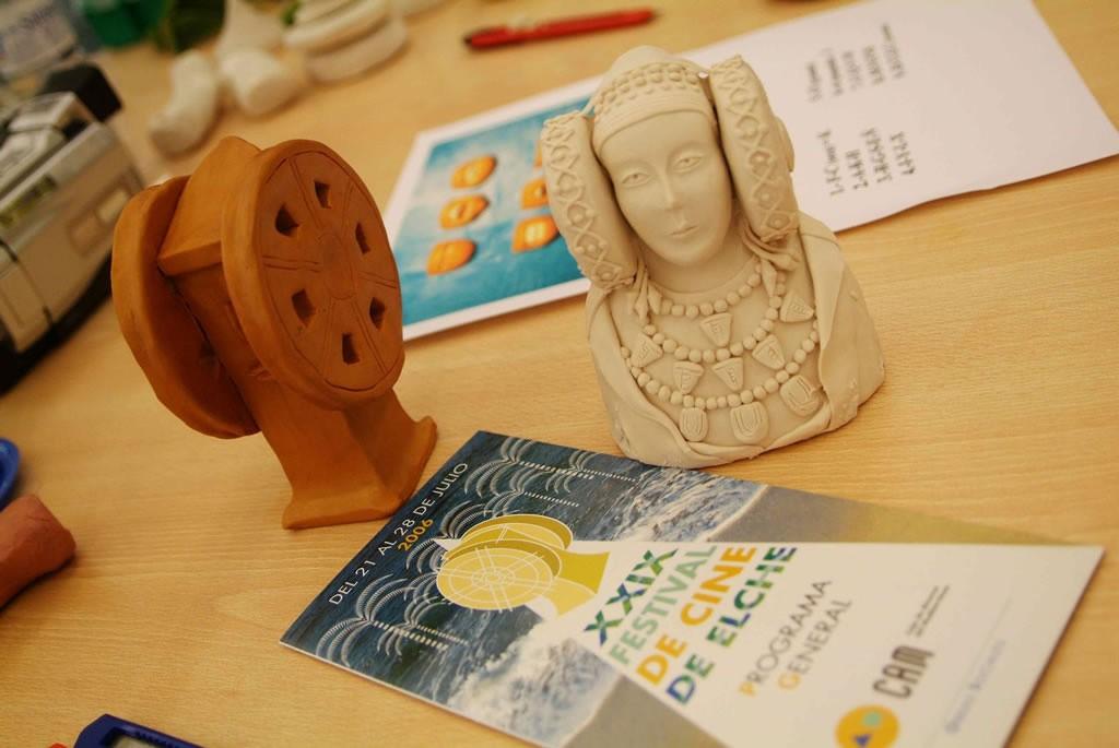 Escultura - Trofeo Cine Independiente