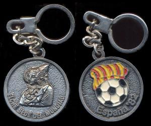 Objeto - Llavero Mundial de Fútbol