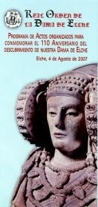 Libro o impreso - Folleto Real Orden de la Dama de Elche