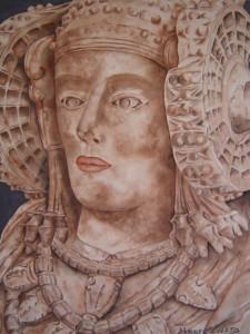 Pintura - La Dama de Elche II