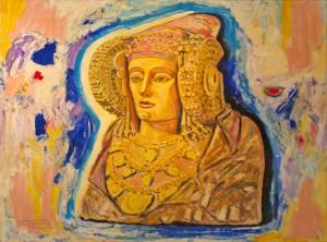 Pintura - La Dama de Fran Rodri