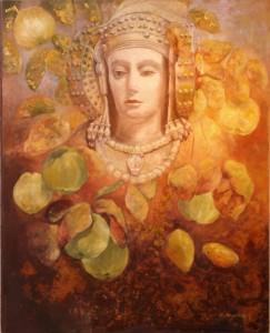 Pintura - Dama de Elche como Ceres