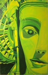 Pintura - La luz que proyecta el lienzo