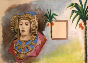 Pintura - Dama de Elche en color