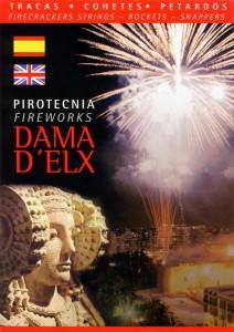 Libro o impreso - Folleto Pirotecnia Dama d'Elx