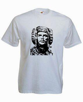 Dibujo - Camiseta Rictuss con la dama del Ché