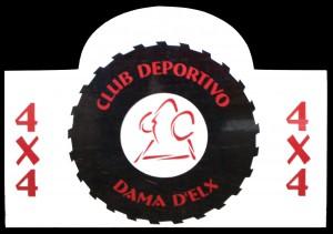 Logotipo - Club deportivo 4x4 Dama d'Elx