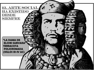 Dibujo - La Dama de Elche Guevara