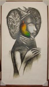 Pintura - La Mulata de Elche