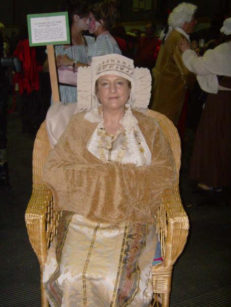 Dama viviente - Disfraz de Dama de Elche