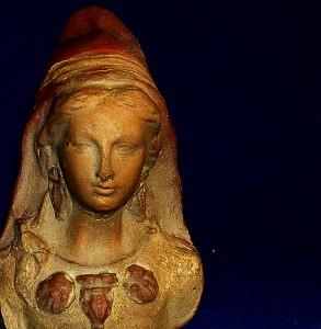 Escultura - Virgen ibérica