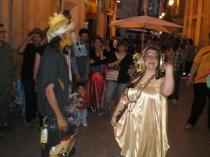 Dama viviente - Elx al carrer 2008