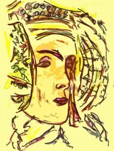 Pintura - La meua Dama d'Elx