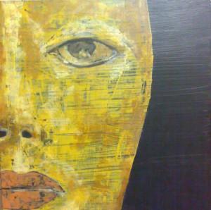 Pintura - El rostro de la dama