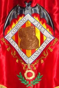 Logotipo - Escudo de la Falla Islas Canarias-Dama de Elche