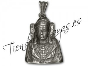 Objeto - Colgante réplica Dama de Elche