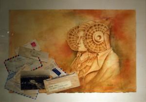 Pintura - Cartas a la Dama