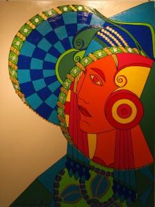 Pintura - Cartel para la Dama