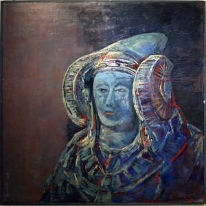 Pintura - Dama Azul