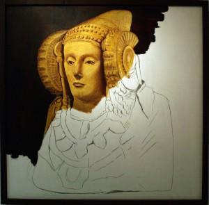 Pintura - Dama inacabada