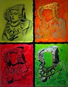 Pintura - Cuatro damas