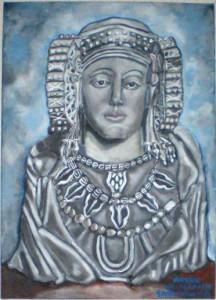 Pintura - Dama de Elche - IBERIA