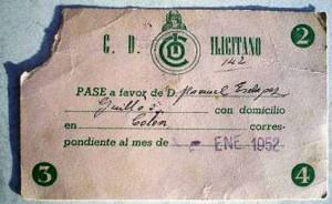 Estampa - Pase C. D. Ilicitano