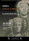 Cartel - Conferencia Grecia e Iberia