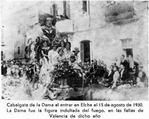 Escultura - Dama de Elche Falla 1930