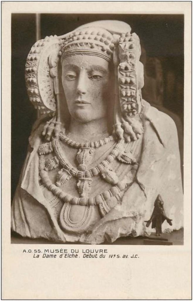 Tarjeta postal - La Dame d'Elché