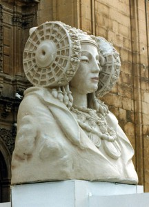 Escultura - Dama de Elche Falla 1997