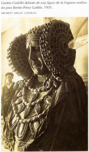 Escultura - Dama de Elche Hoguera 1931