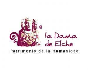 Logotipo - La Dama de Elche Patrimonio de la humanidad