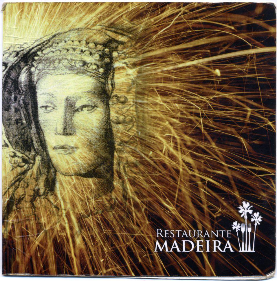Libro o impreso - Carta Restaurante Madeira