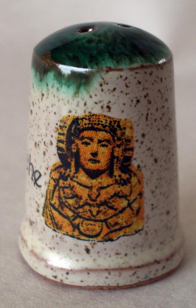 Objeto - Dedal de cerámica