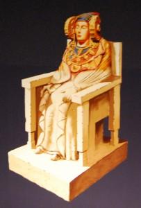 Dibujo - Dama sedente