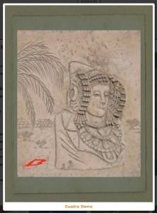 Otras técnicas artísticas - Cuadro Dama de Elche
