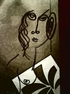 Pintura - Une dame d'elx