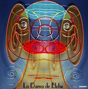 Dibujo - La Dama de Elche una imagen diferente