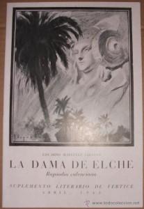 Libro o impreso - La Dama de Elche-Rapsodia Valenciana