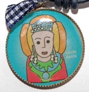 Objeto - Gargantilla medalla Dama de Elche