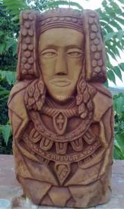 Escultura - Dama de Carvula