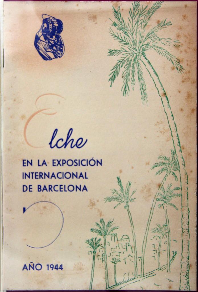 Libro o impreso - Elche en la Exposición Internacional de Barcelona