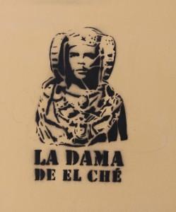 Dibujo - La Dama de El Ché