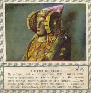 Estampa - A Dama de Elche