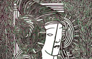 Grabado - Dama de Elche
